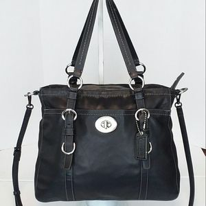 Coach Bags - Coach Black Leather Chelsea Tote Large